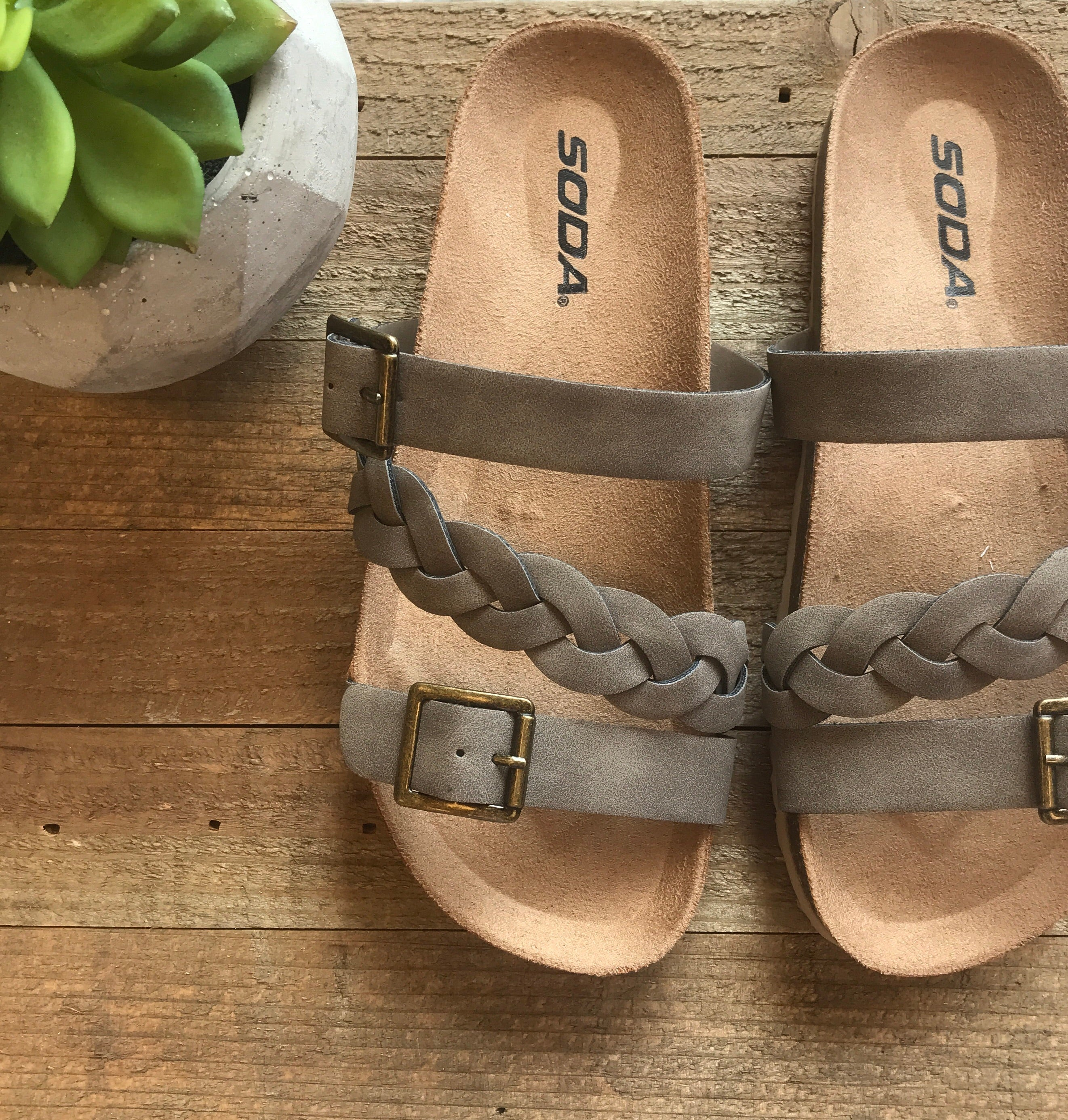 Better Braided Sandals