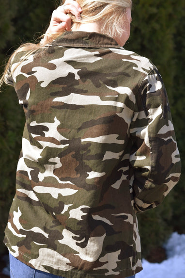 Glam Fighter Camo Jacket