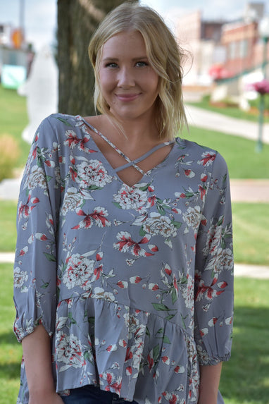 Adelaide Floral Top