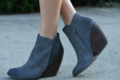 The Adley Bootie - Charcoal
