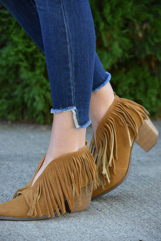 The Fringe Forever Booties