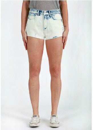 Stevie High Rise Short in Moon Wash