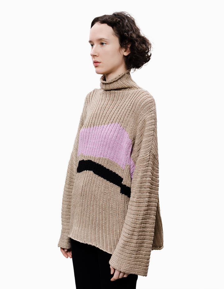 HORIZON SWEATER, HAYFLOWER