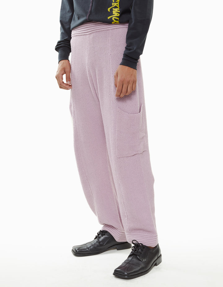 VACATION KNIT PANT, LILAC