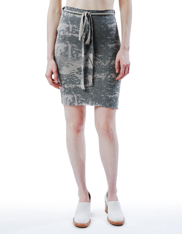 EXCLUSIVE POISON SKIRT IN GREY