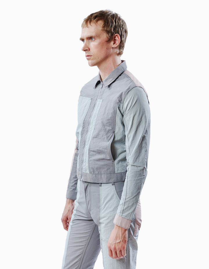 BLUNT JACKET IN GREY MULTI