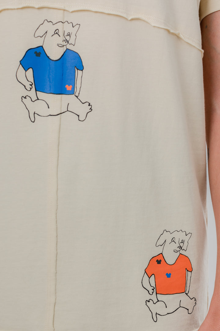 Lapped Tee Three Dogs