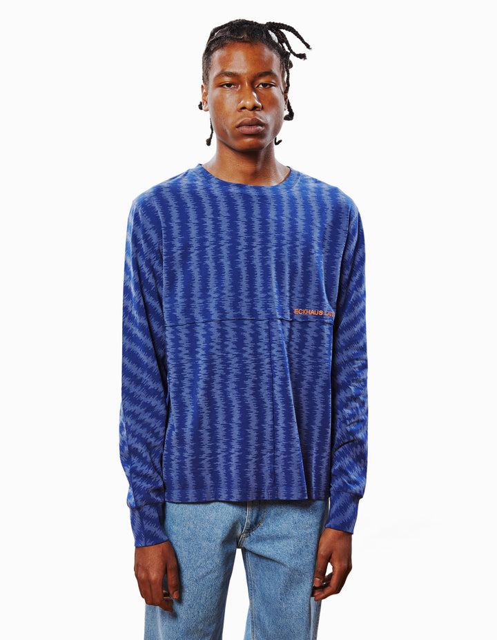 LAPPED LONG SLEEVE IN STATIC