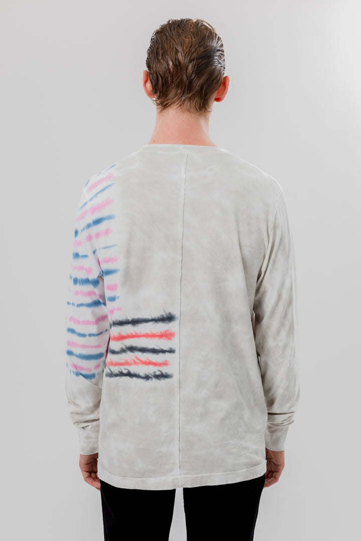 Lapped Longsleeve Step Stripe