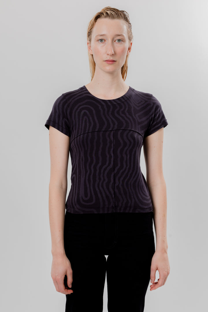 Lapped Baby Tee Spiral