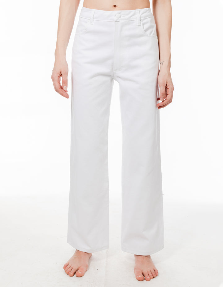 Wide Leg Jean Optic White