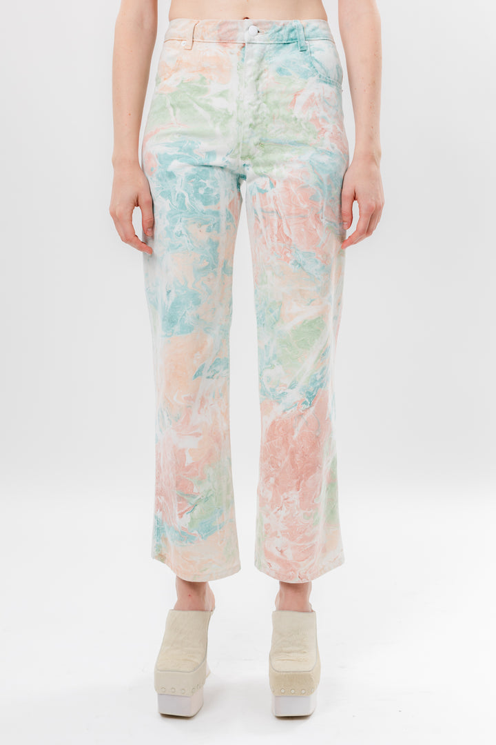 Wide Leg Jean Marble by Eckhaus Latta, available on eckhauslatta.com for $300 Kylie Jenner Pants SIMILAR PRODUCT