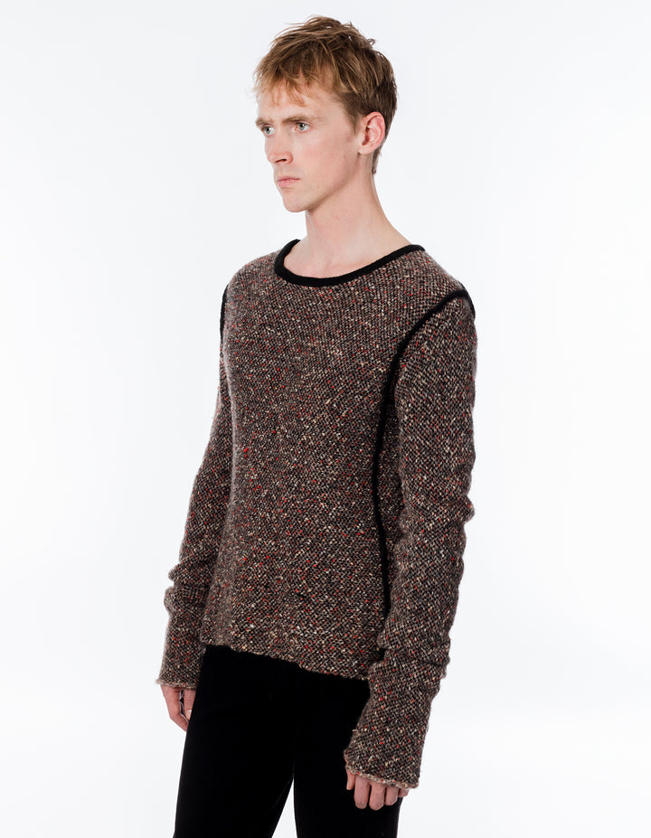 Eckhaus Latta Knit Carpet Sweater Erosion