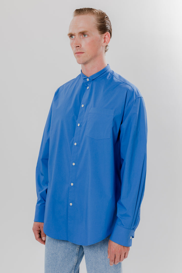 Dog Ear Button Down Ultra Blue