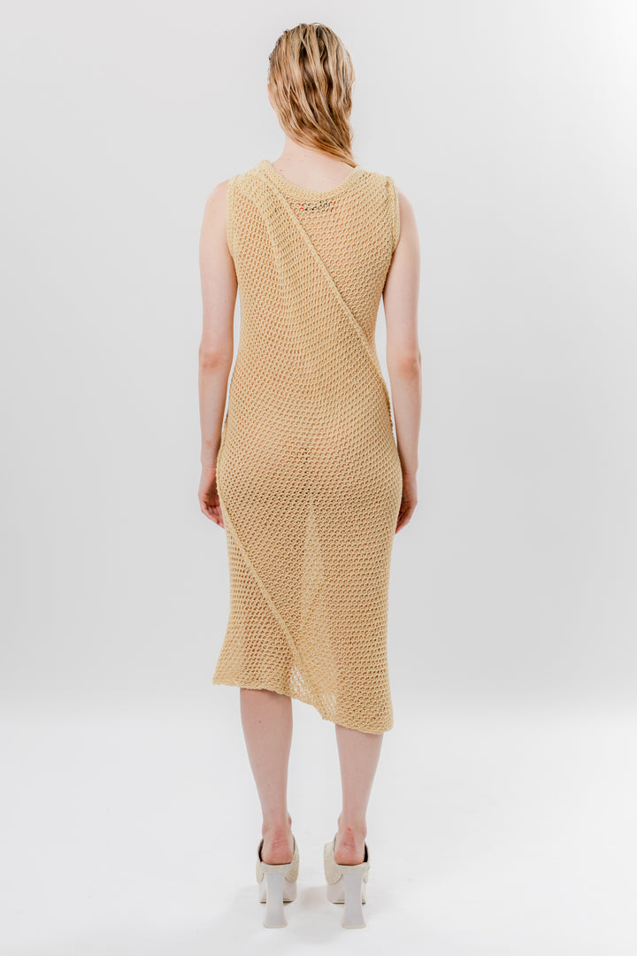 Winding Dress Italian Straw