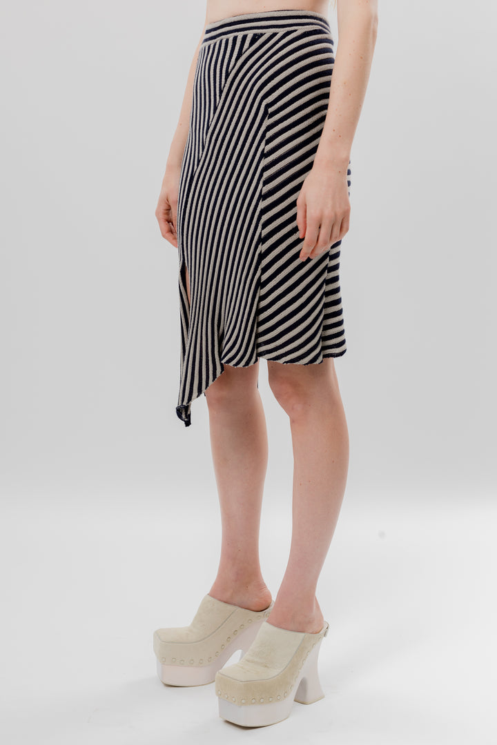 Serpentine Stripe Skirt