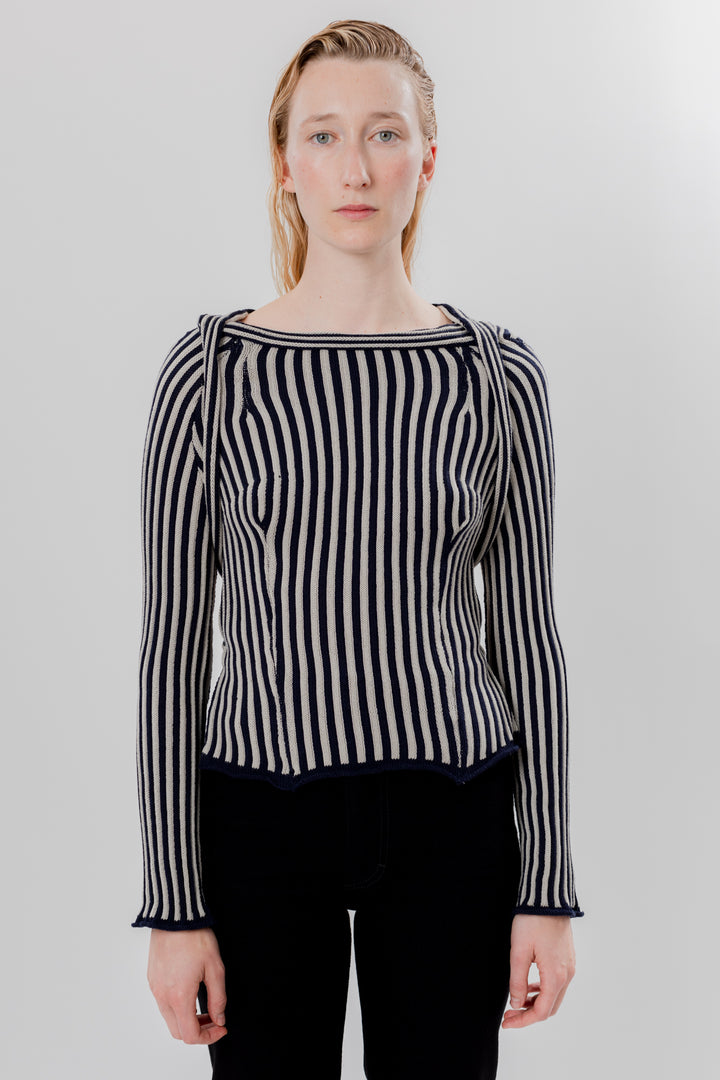 Serpentine Stripe Sweater