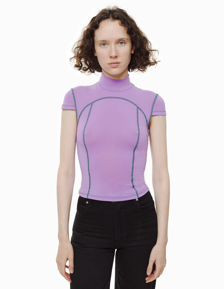 SPORT TEE, ORCHID