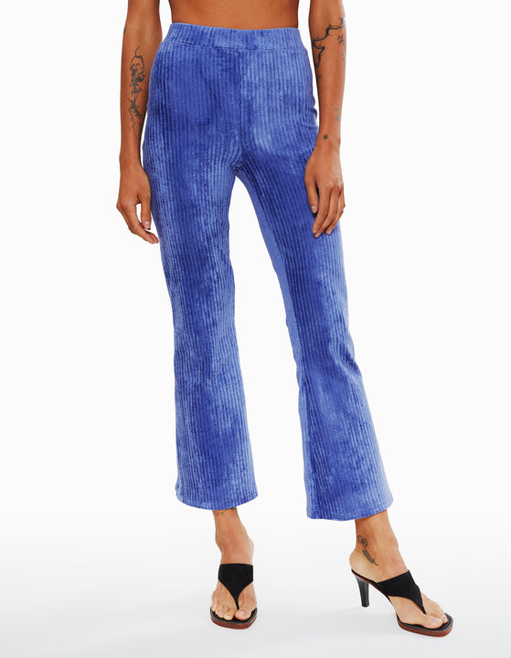 RIBBED VELOUR PANT, VELVET MORNING
