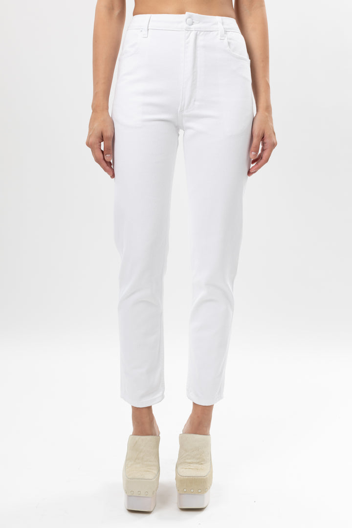 EL Jean Optic White by Eckhaus Latta, available on eckhauslatta.com for $290 Kylie Jenner Pants SIMILAR PRODUCT