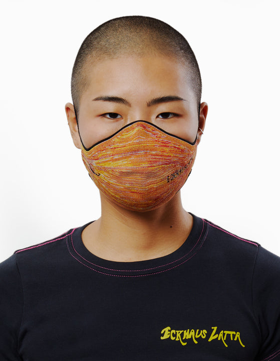 EL MASK IN ORANGE