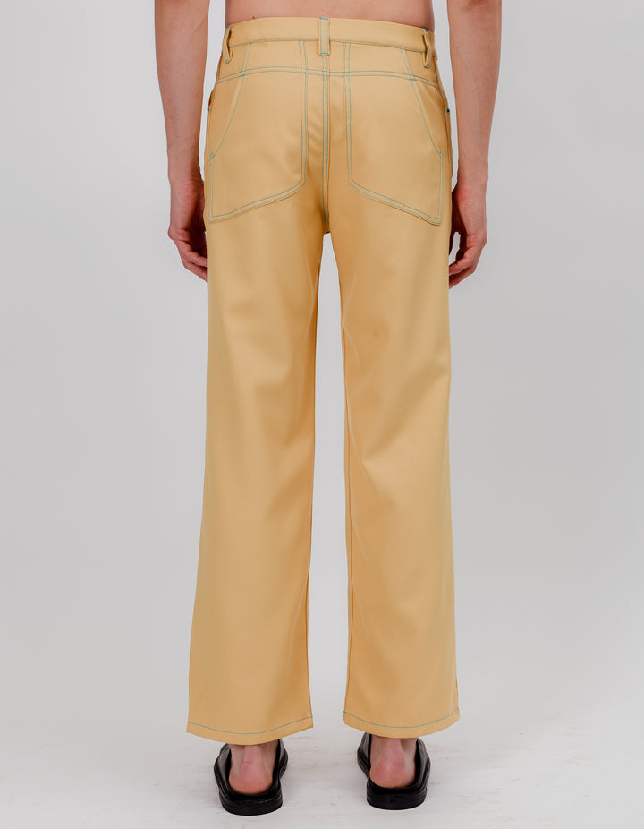 WIDE LEG JEAN GOLDEN HAZE