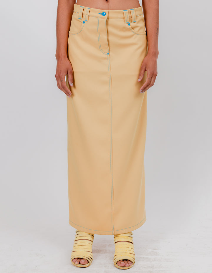 PEAK SKIRT GOLDEN HAZE