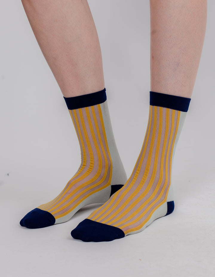 MID SOCK GOLD MINT