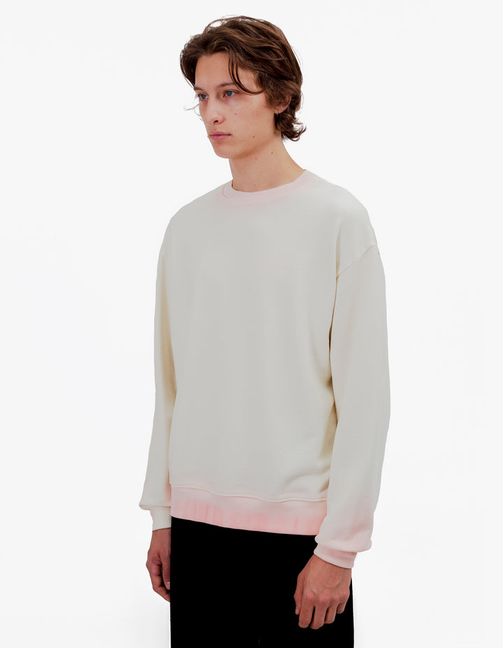 SWEATSHIRT PINK CREAM TIP