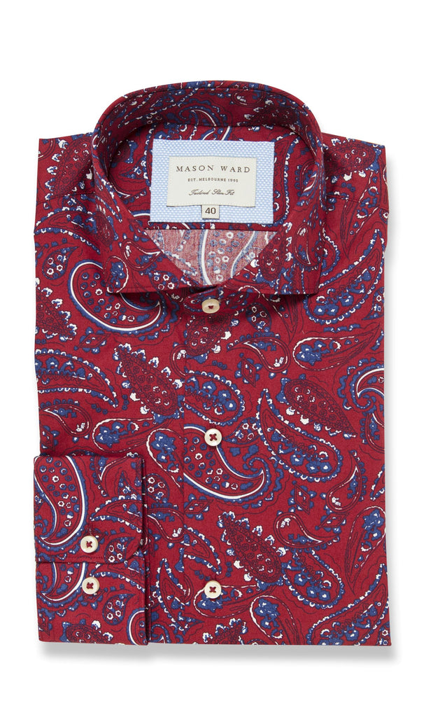 Mod Paisley - Slim Fit Casual Shirt - MCM Studio
