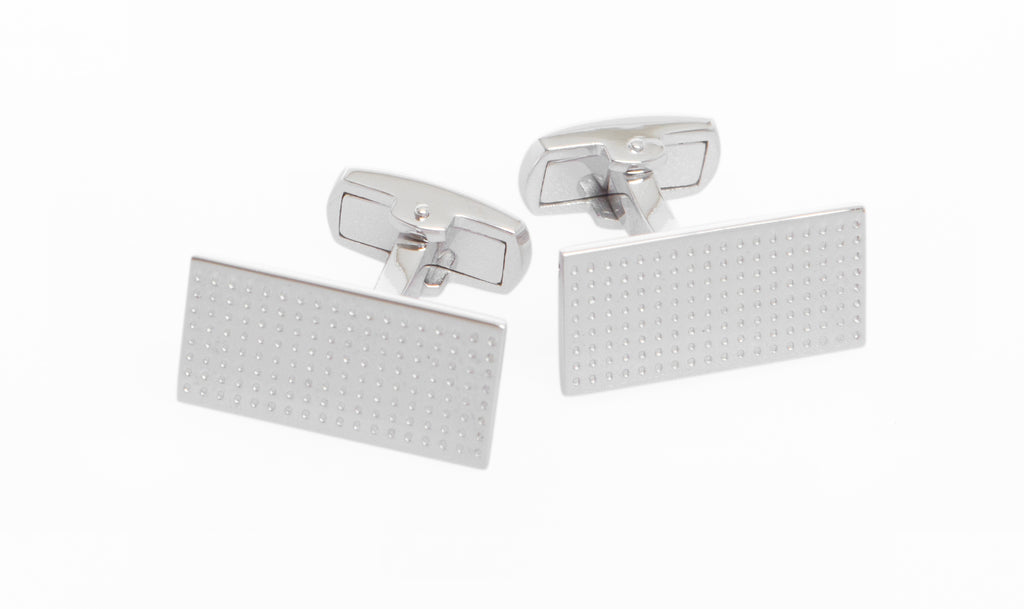 Sterling Silver Retro Cufflinks - MCM Studio