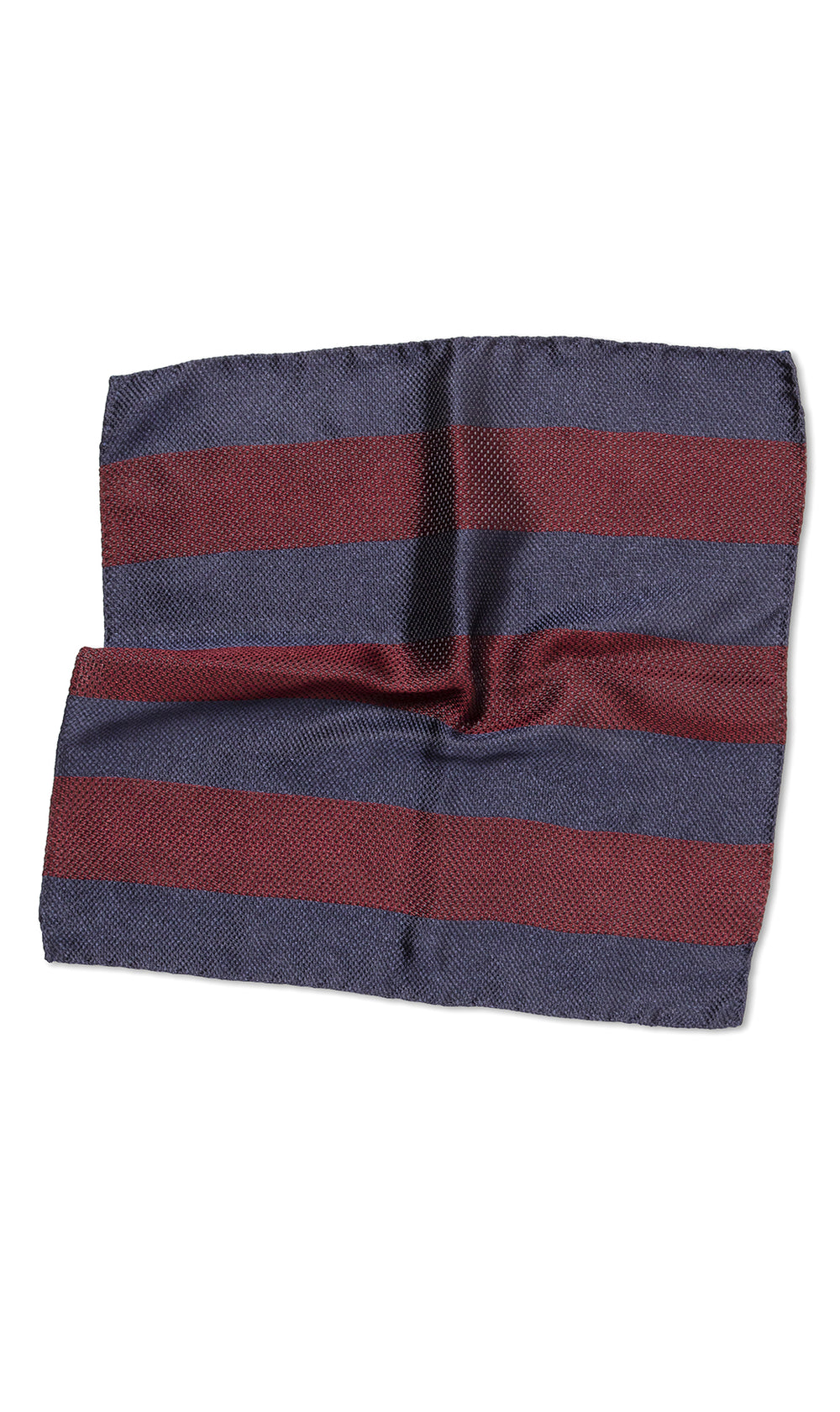 Firenze Navy Burgundy Pocket Square - MCM Studio
