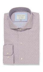 London Polka Dot - Slim Fit Casual Shirt - MCM Studio