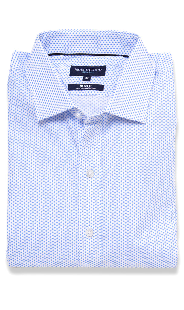 Shibuya Shirt - Men's Slim Fit/ Regular Cuff - MCM Studio