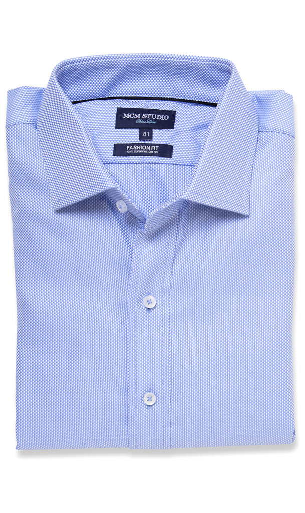 Minato Shirt Oxford Two Ply- Men's Fashion Fit/ Regular cuff - MCM Studio