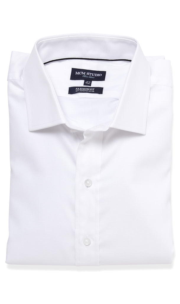 Stockholm Shirt- Men's Fashion Fit/ French Cuff - MCM Studio