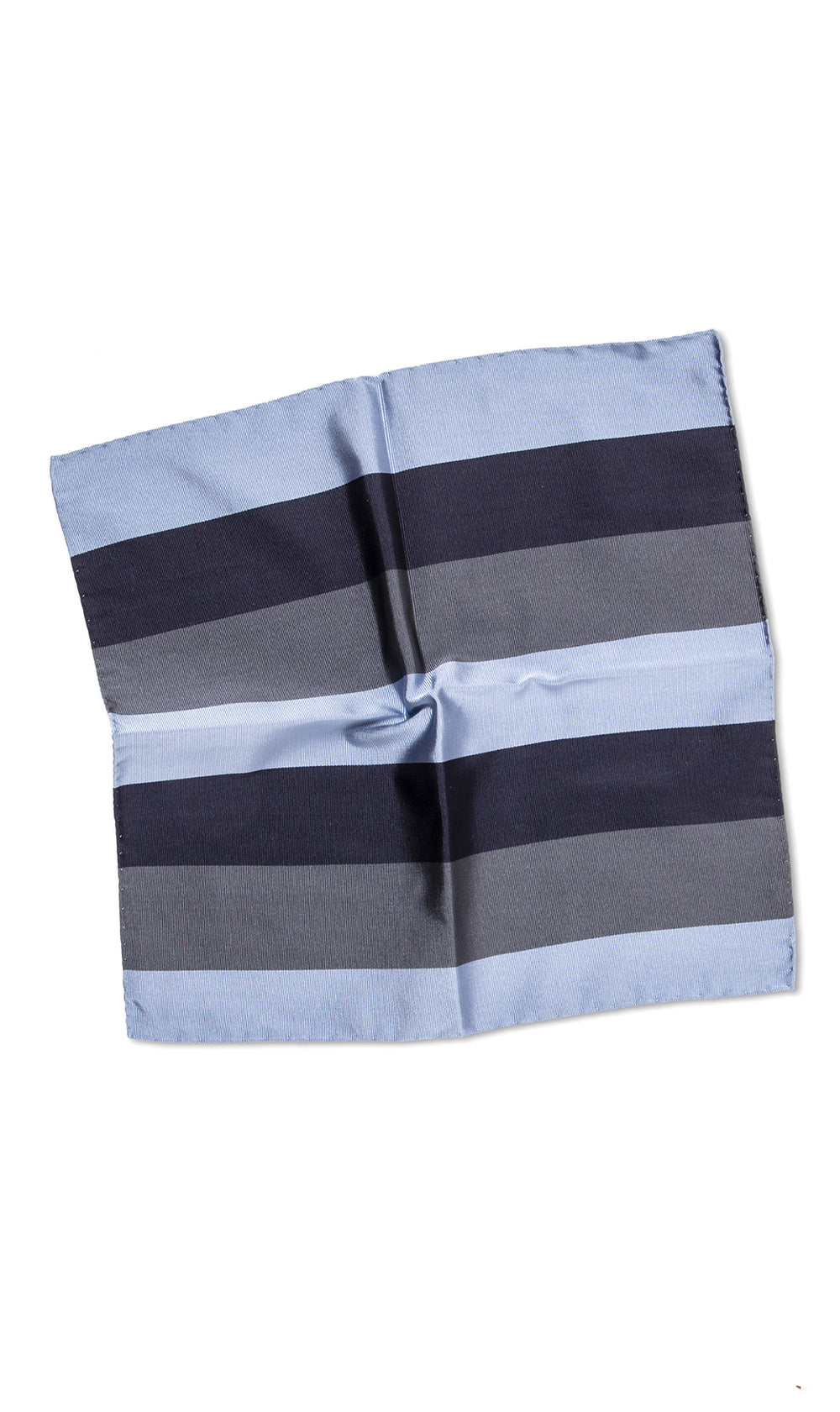Tricolor Marine Pocket Square