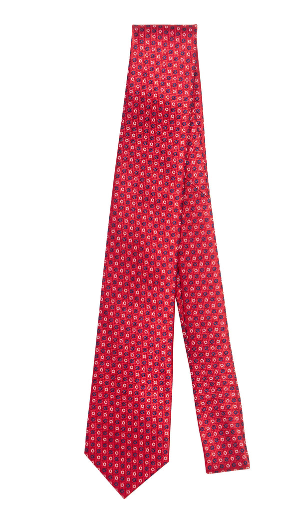 Alsace Red Classic Tie by Daniel Hechter Paris