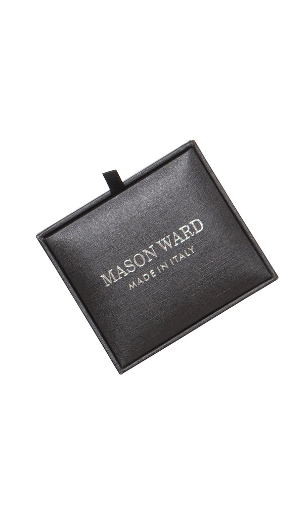 MCM Studio Vintage Black Cufflinks by Mason Ward