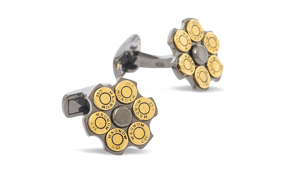 Sterling Double Barrel Cufflinks - MCM Studio
