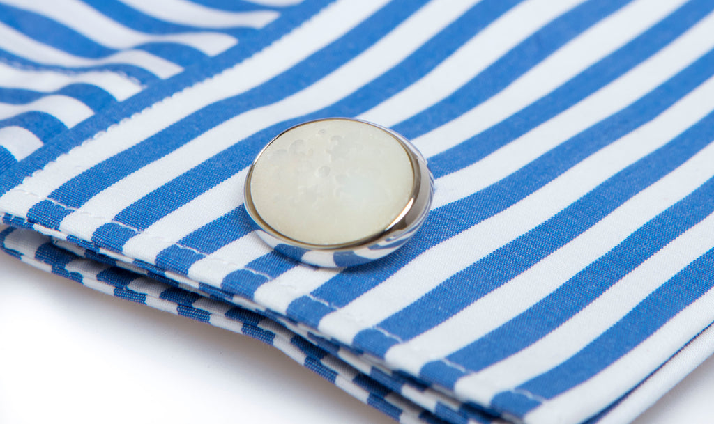 Tuscan Mother of Pearl Cufflinks - MCM Studio