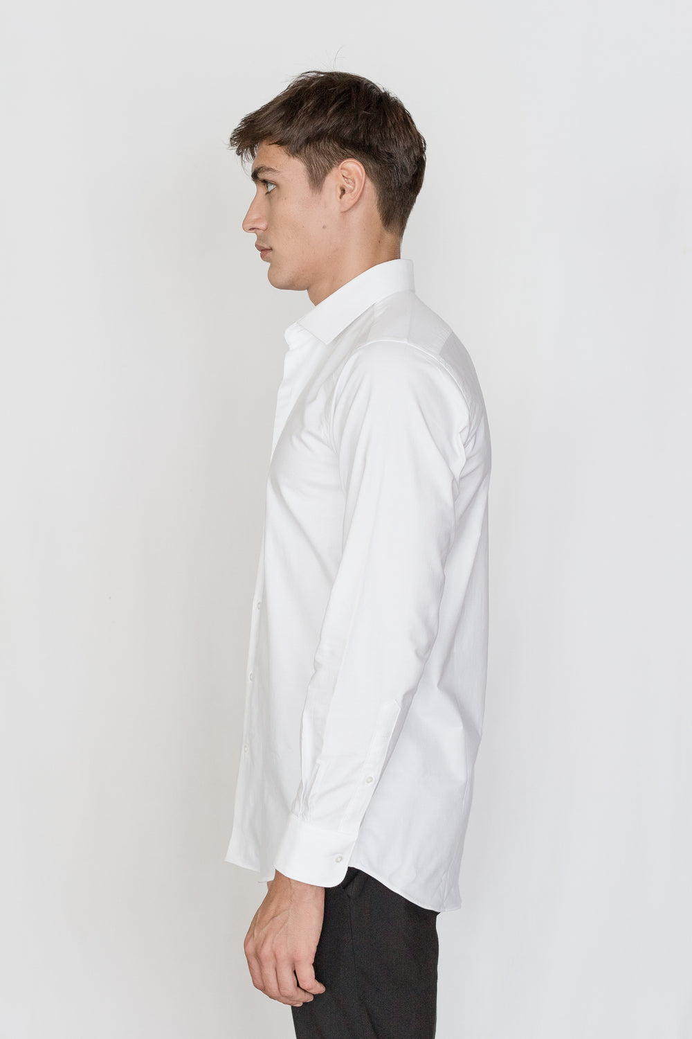 Mason Ward Aarhus White Oxford Fashion Fit/ Regular Cuff Shirt