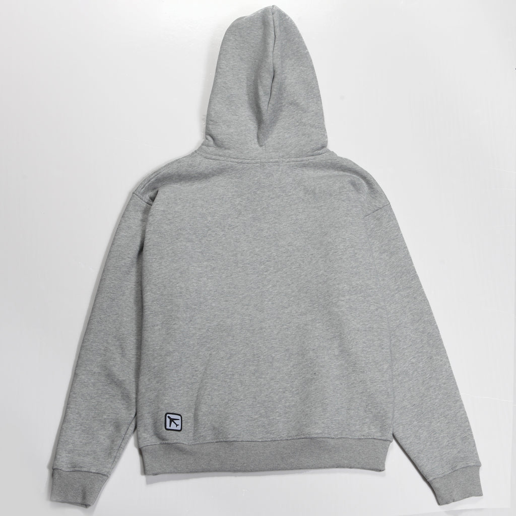 MCM Studio MCMXCV Cotton Fleece Unisex Hoodie Earl Grey