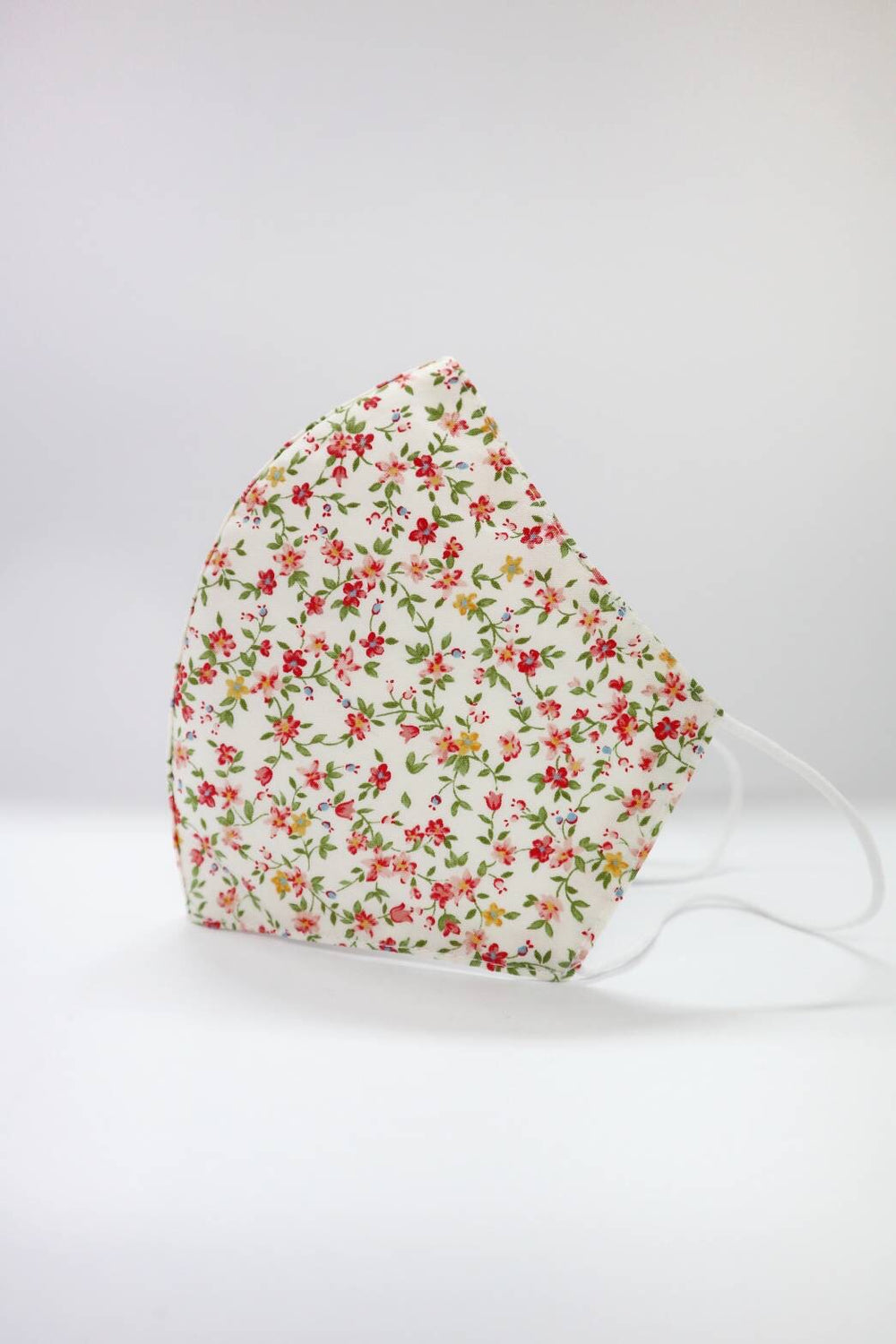 Island Rose Floral Womens Size Reusable Two Layer Mask