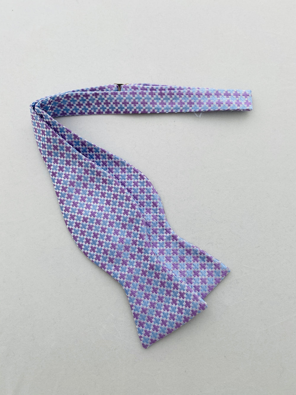 MCM Studio Bow Tie Made In Italy by Fratellini Lilac Sky Cross