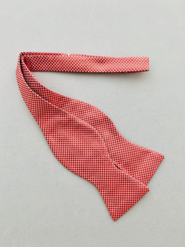 MCM Studio Bow Tie Made In Italy by Fratellini Coral Dobby