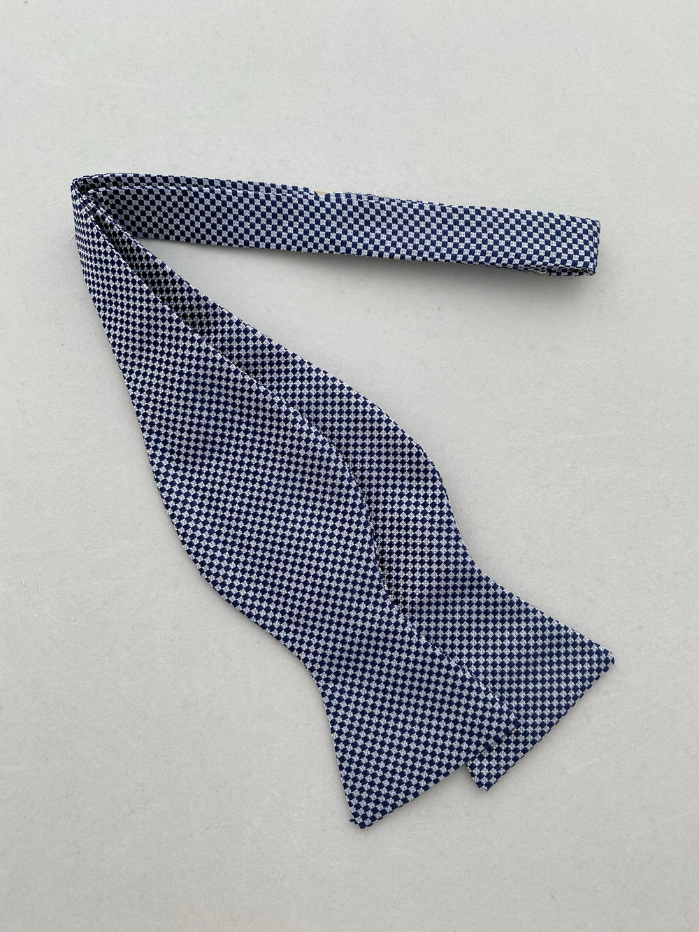 MCM Studio Bow Tie Made In Italy by Fratellini Navy Dobby