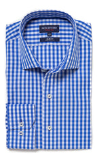 Ramses Royal Blue Gingham 2/100s