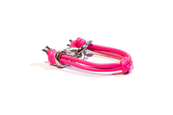 KNOTS NEON PINK