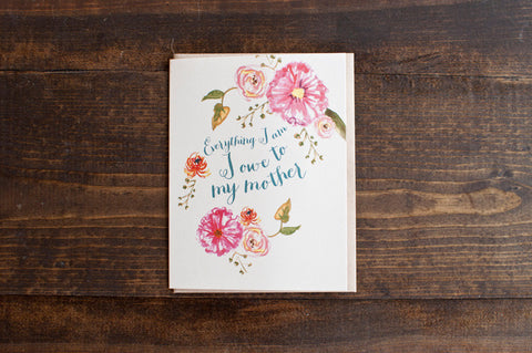 Floral Mother - The Stationery Bakery
